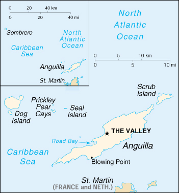 [Country map of Anguilla]