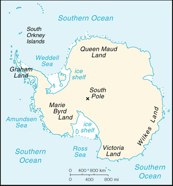 [Country map of Antarctica]