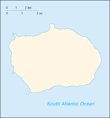[Country map of Bouvet Island]