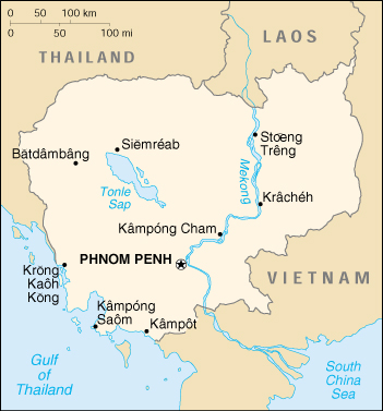 [Country map of Cambodia]