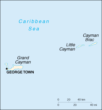 [Country map of Cayman Islands]