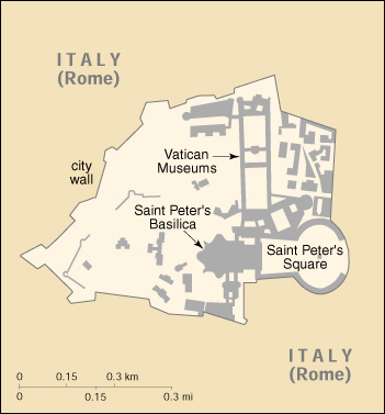 [Country map of Holy See (Vatican City)]