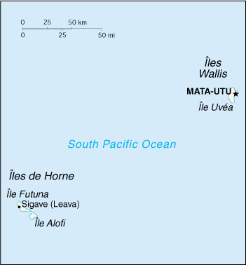 [Country map of Wallis and Futuna]